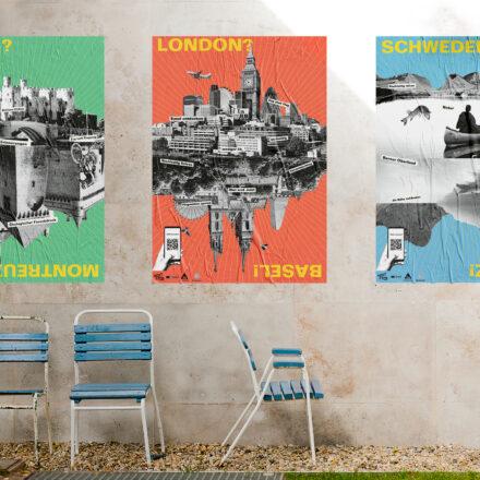 Projekt Nachhaltigkeit, Reisen, Fachklasse Grafik St.Gallen