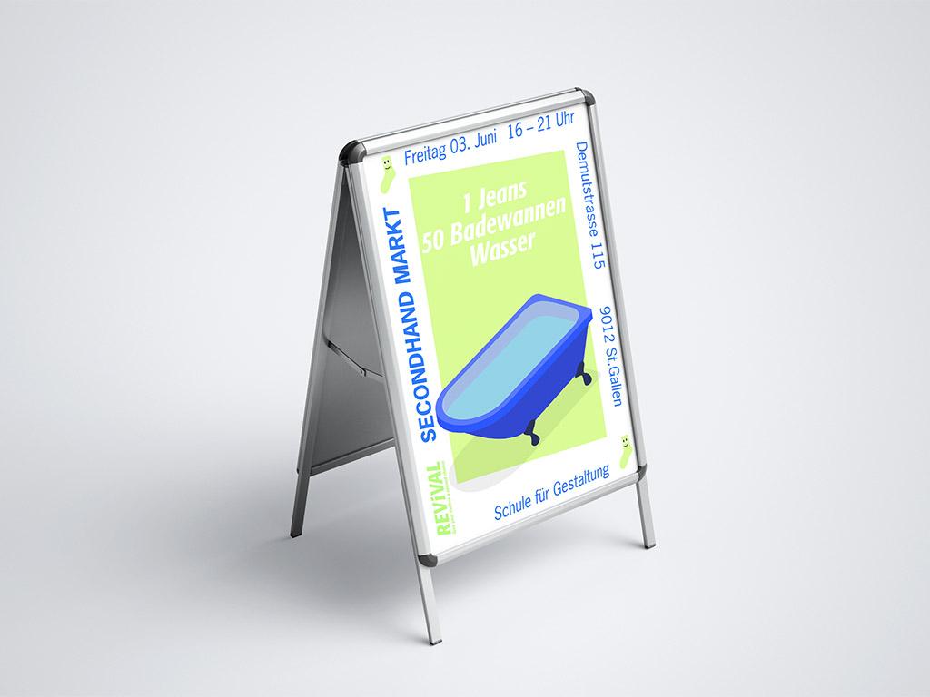 Projekt Nachhaltigkeit, Fast Fashion, Fachklasse Grafik St.Gallen