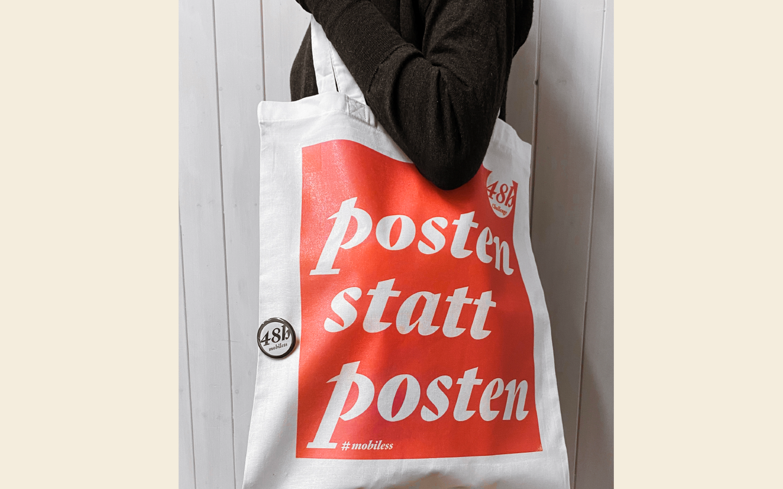 Kampagnen-Tasche: Fachklasse Grafik St.Gallen