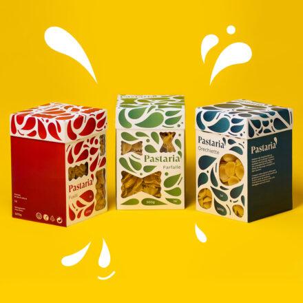 Branding Pasta, Packaging-Design