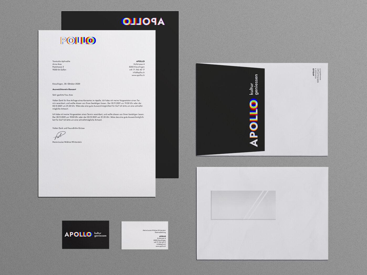 Fachklasse Grafik St.Gallen Corporate Design